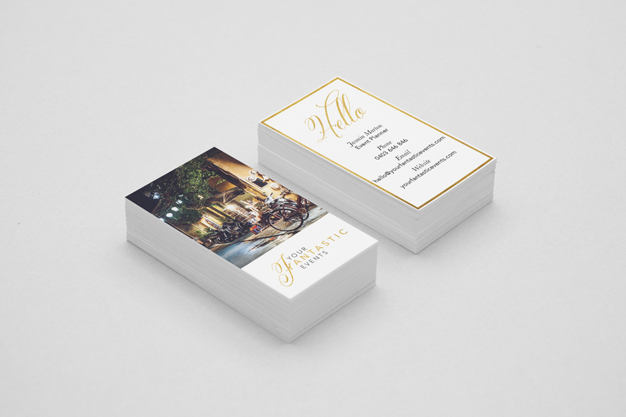 visual identity | business card design