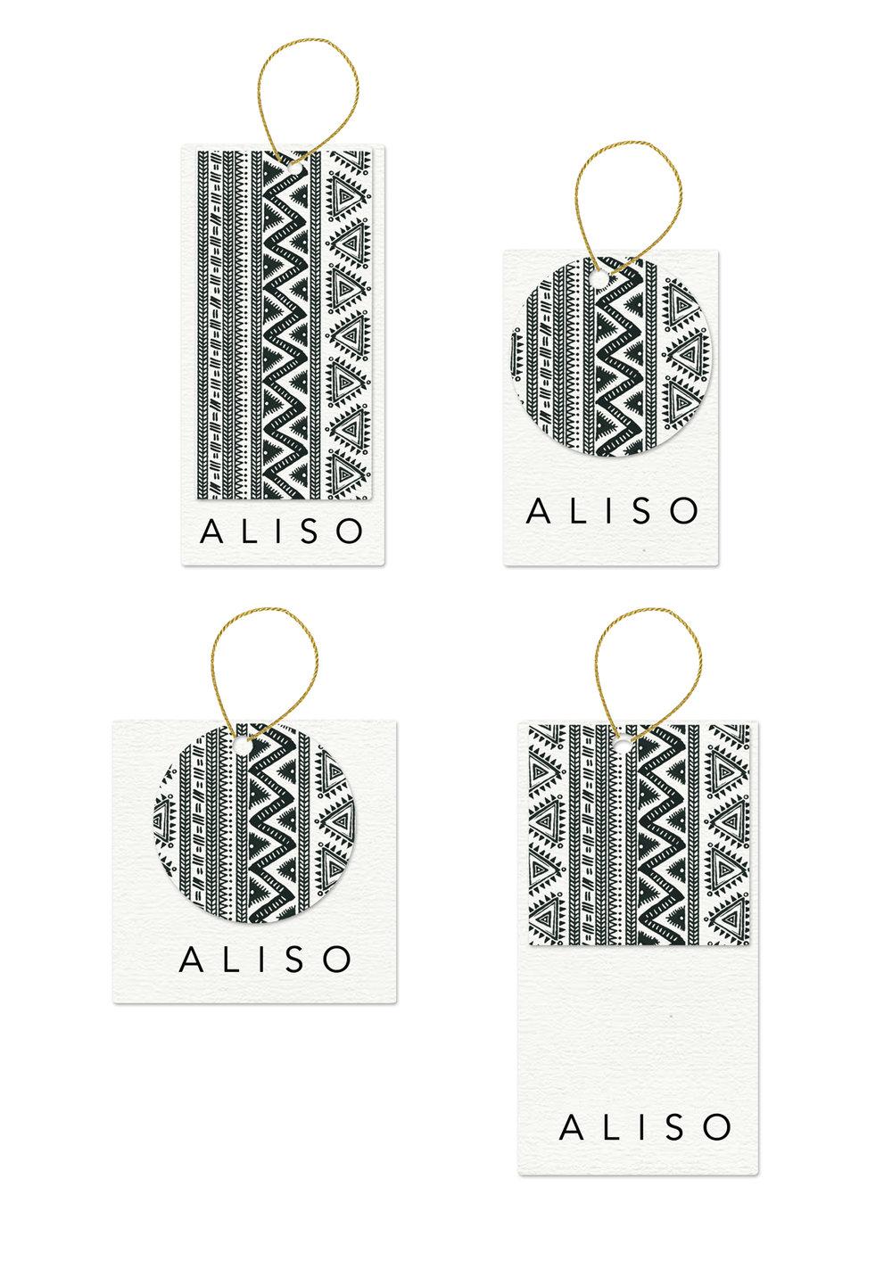 ALISO: fashion label design