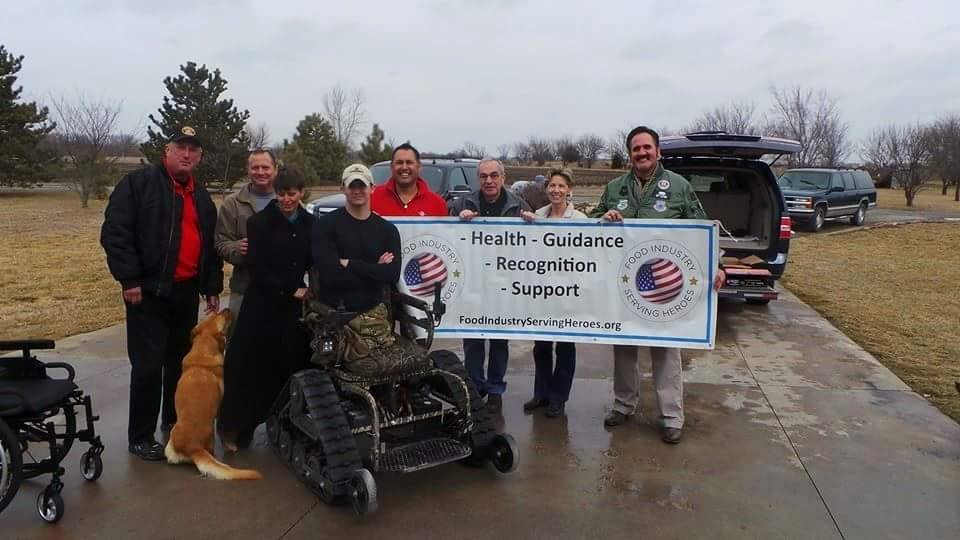 F.I.S.H. Donation of tracK chair to recon marine