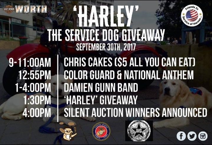Worth Harley Davidson >> Worth Harley Davidson Friends In Service Of Heroes