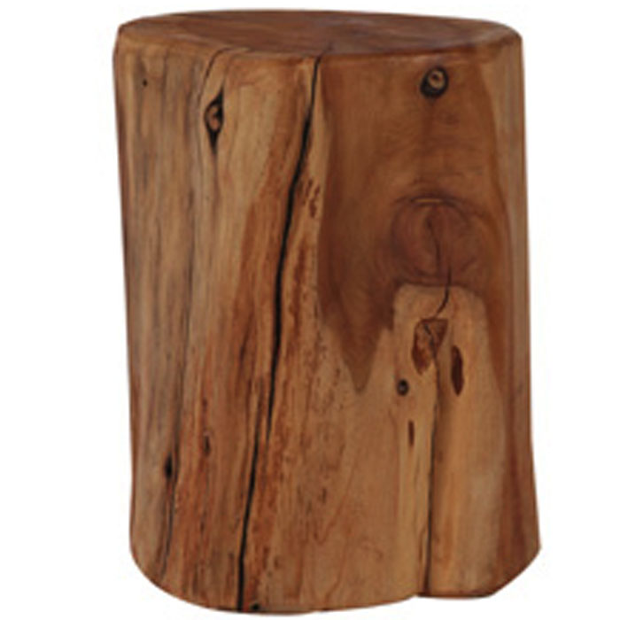 Beau NATURAL TREE STUMP SIDE TABLE