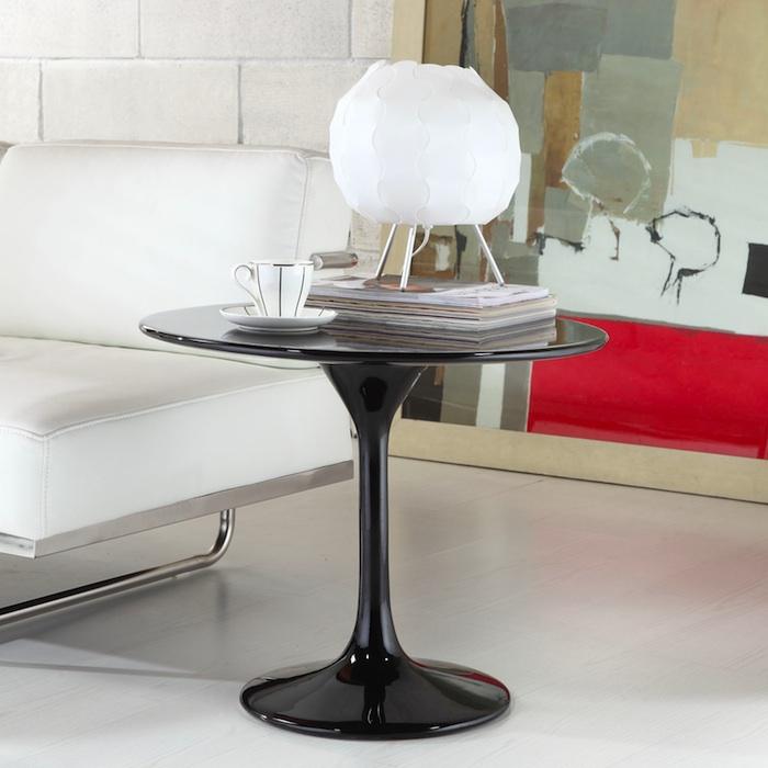 BLACK TULIP SIDE TABLE