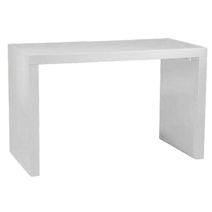Merveilleux WHITE LAMINATE U SHAPE U0027u0027BAR TABLEu0027u0027
