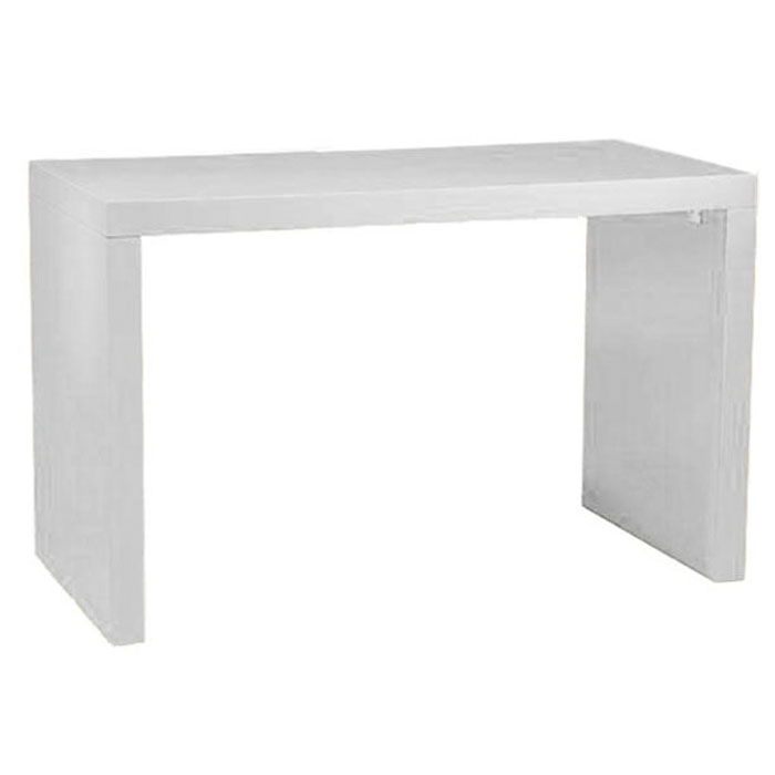 WHITE LAMINATE USHAPE BAR TABLE RentQuest