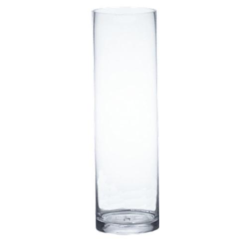 25h Glass Cylinder Vase Rentquest