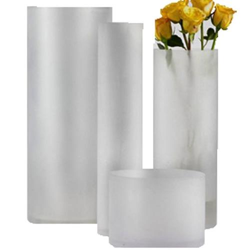 Frosted Cylinder Vases Rentquest