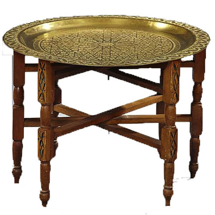 MOROCCAN SIDE TABLE RentQuest