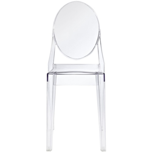 CLEAR ACRYLIC GHOST CHAIR