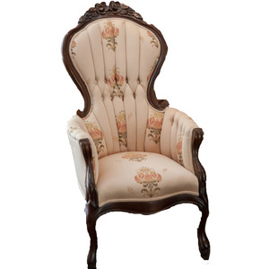 VINTAGE FLORAL ARM CHAIR