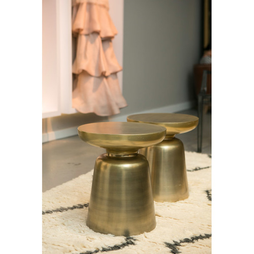 Martini Side Table gold martini side table — rentquest