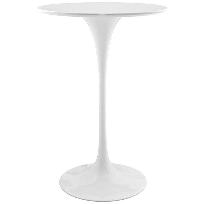 Attractive WHITE TULIP BISTRO TABLE