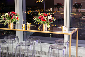 MERCEDES-BENZ DINNER  TINSEL & TWINE   (One World Trade)