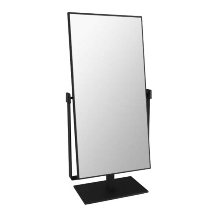 BLACK TABLE TOP MIRROR