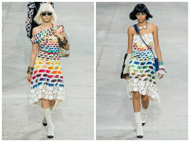 Chanel's ss14 collection (image via eclectic-society.com)