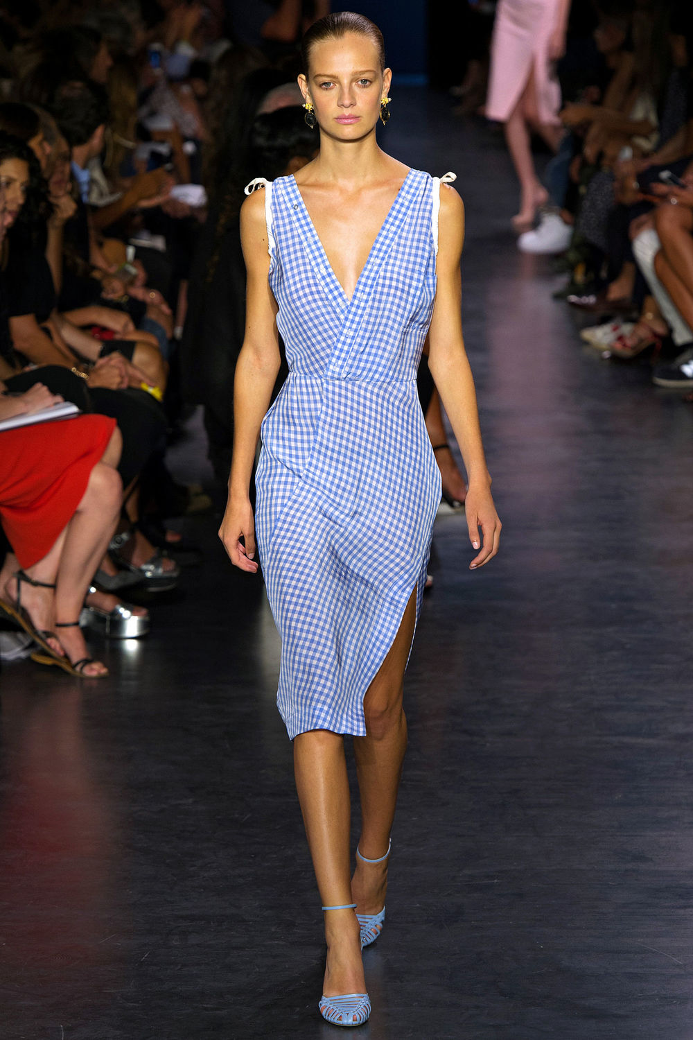 A gingham look from New York fashion label Altuzarra, via elle.co.uk
