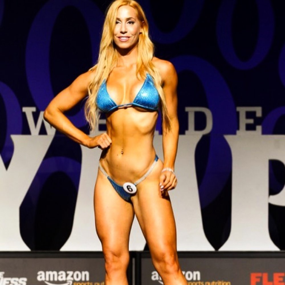 CHRYSA B. - I have always been into sports since a really young age but I was also exposed to wrong images such as skinny figures and size zero. I realized that fitness/training and a healthy lifestyle is #1 passion that also saved me from bad eating habits and a sedentary lifestyle. Through this personal experience I believe I can help others that going through the same path. I am now a certified personal trainer, nutritionist, competition coach and posing coach. I've competed in several NPC and WBFF shows in bikini division placing within top 4. My main goal is to be an advocate of fitness/nutrition and inspire/encourage people to get fit, healthy and strong through training and clean dieting.