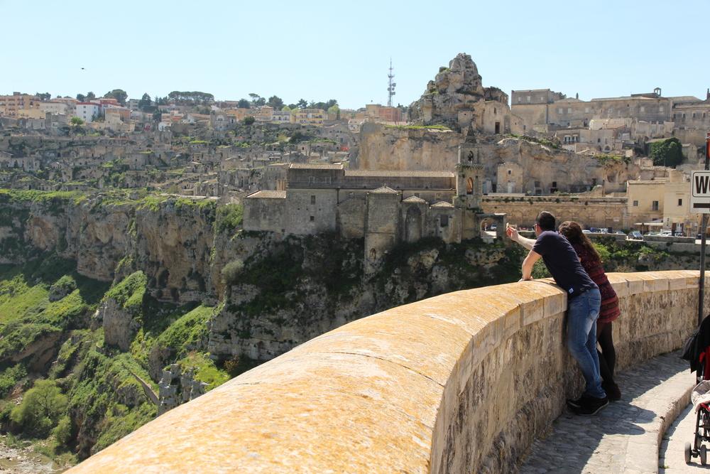 Gabriele and me in Matera