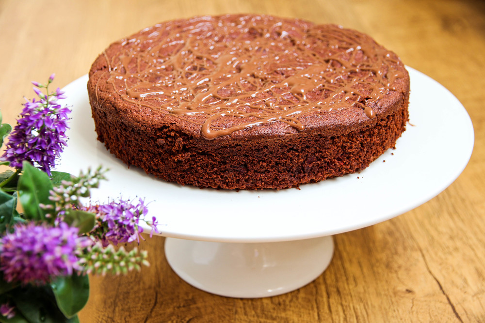 Flourless Chocolate & Beetroot Cake