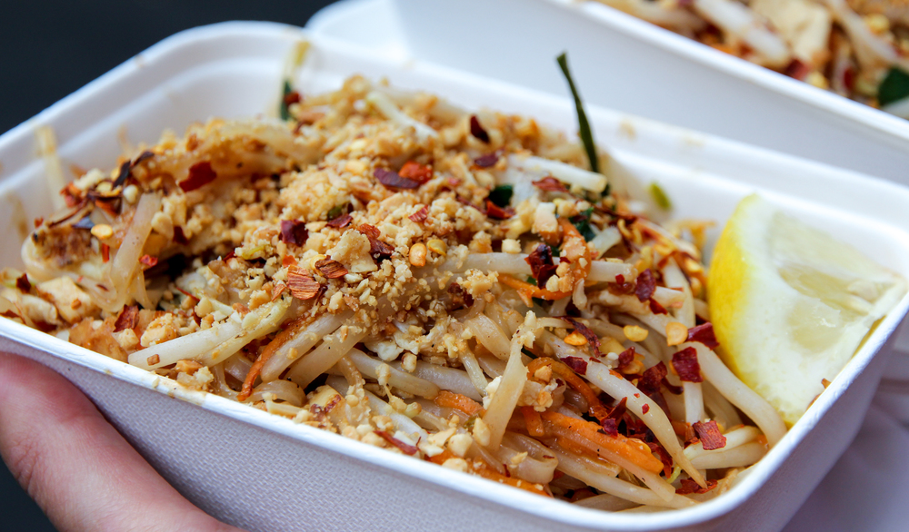 Inspirational Pad Thai from 'Khanom Krok' at the Borough Market