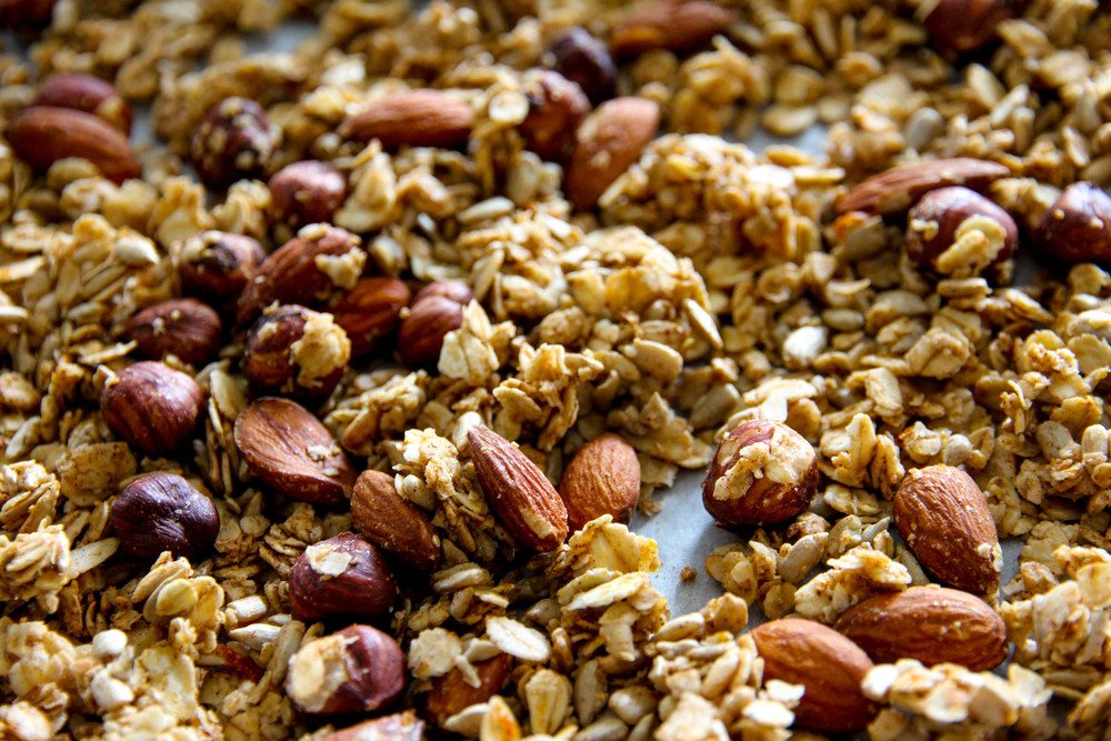 Hazelnut, Almond and Maple Granola