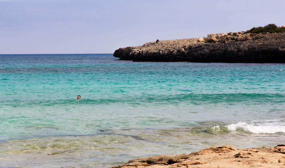 Swimming in the Balearic Sea, mallorca