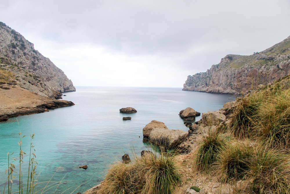 Cala Figuera, a beautiful stop on the way back from the lighthouse.