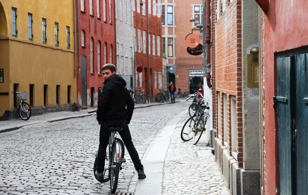 Bike friendly Copenhagen.