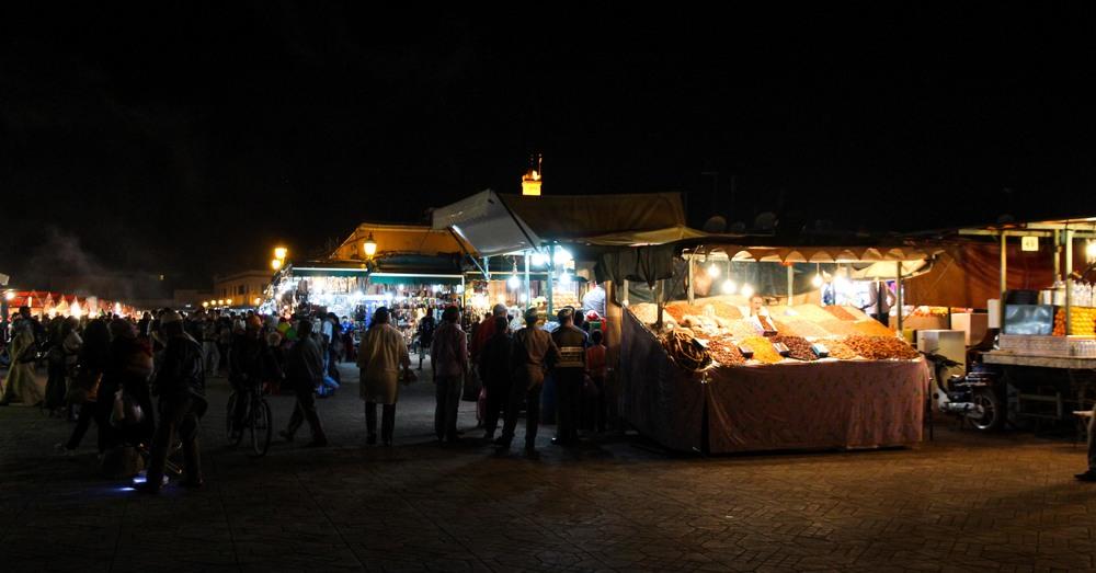 Jeema el-Fna, Marrakech