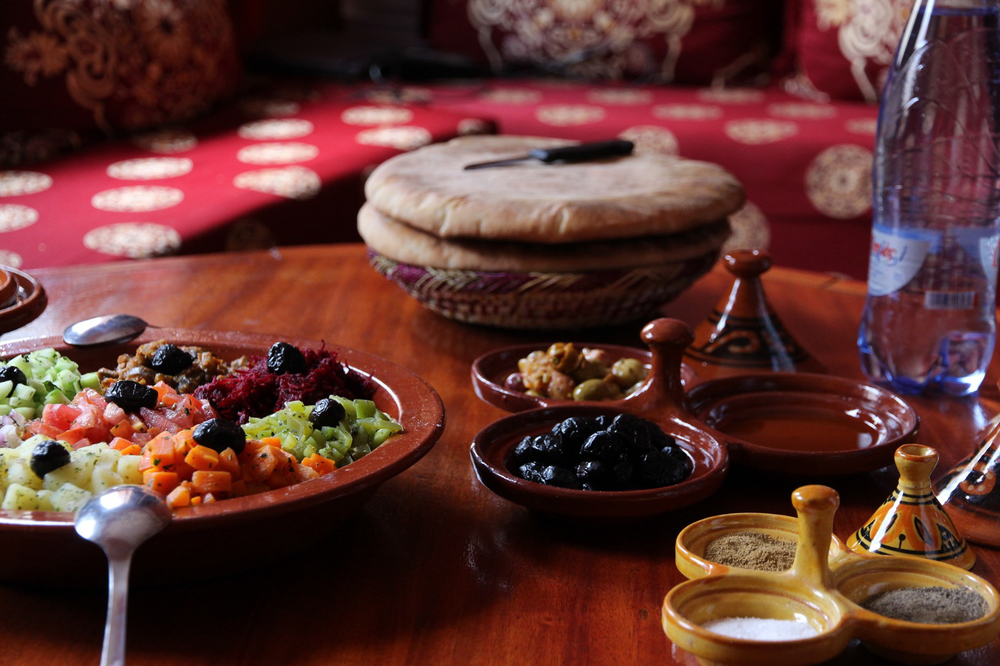 Lunch in Imlil, Morocco