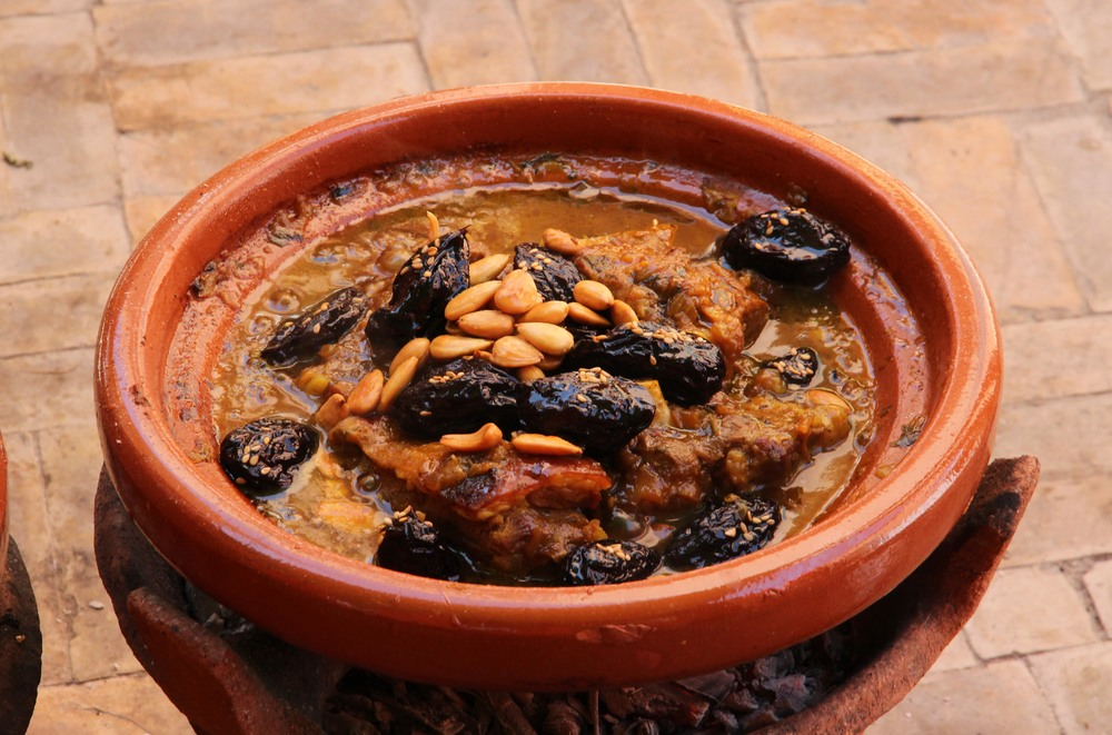 Lamb & Date Tagine, Amal Women's Training Cente, Marrakech