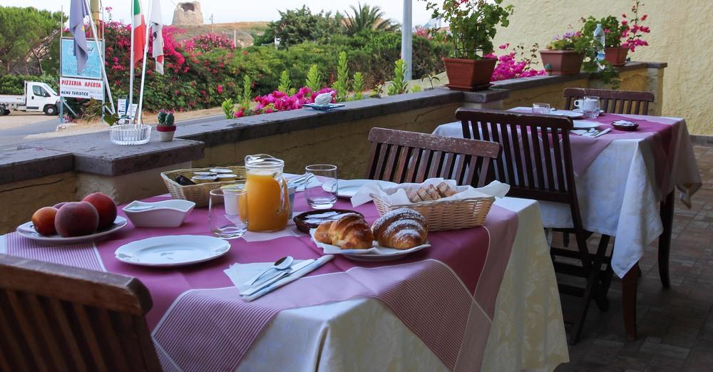 Mariangela's breakfast at b&b Torre del Pozzo