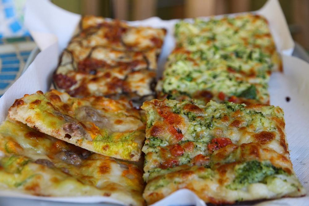 Pizza from La Lucciola, Santa Teresa di Gallura
