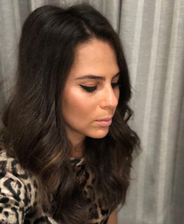 Last night's perfect wing thanks to @swiitchbeauty #liquidluck! 👁 #kellifuchsmakeup #eyelinertutorial #eyelineronfleek #eyelineronpoint #makeup #makeupartist #swiitchbeauty