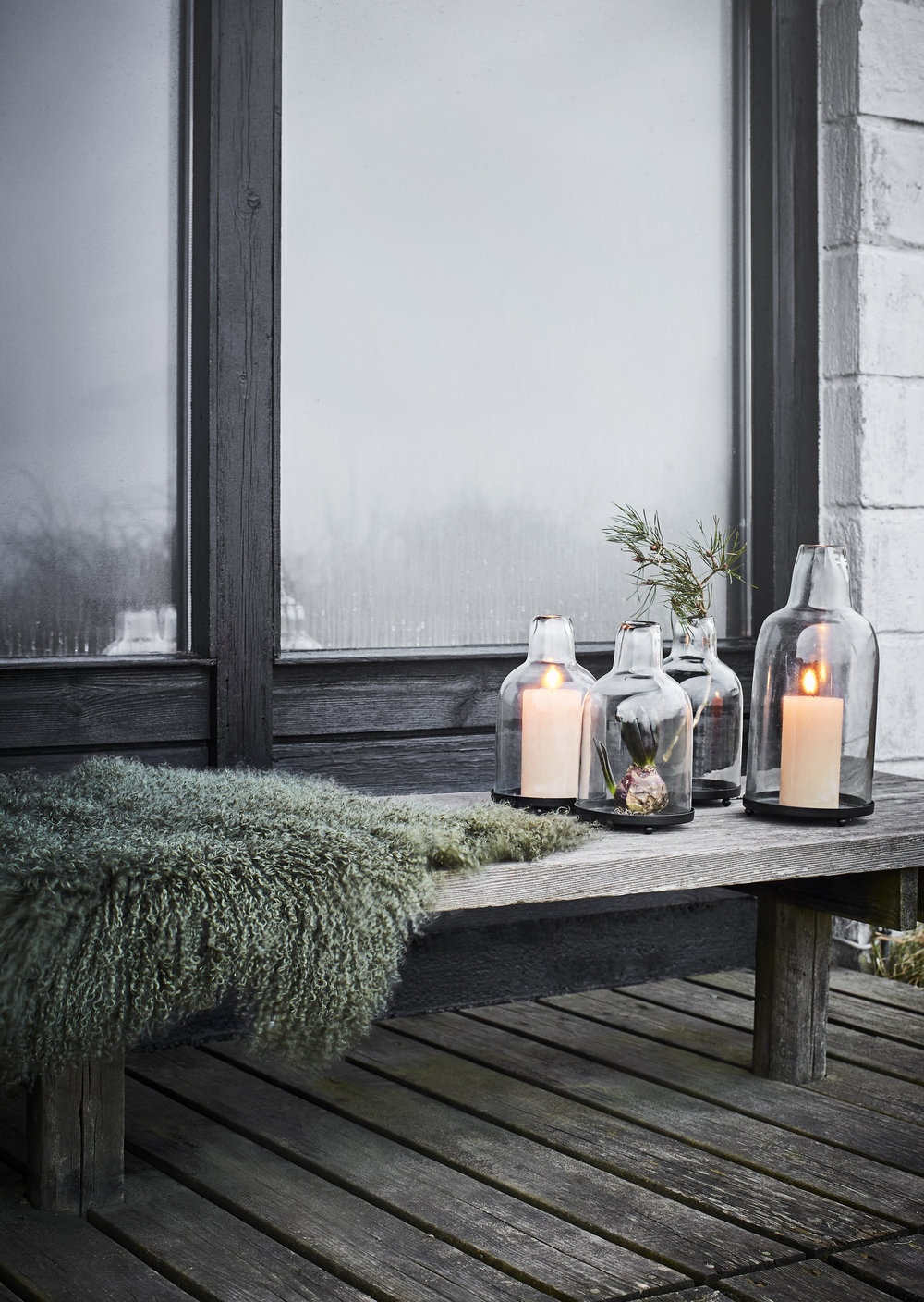 Cosy up with these hurricane lanterns from our lighting section