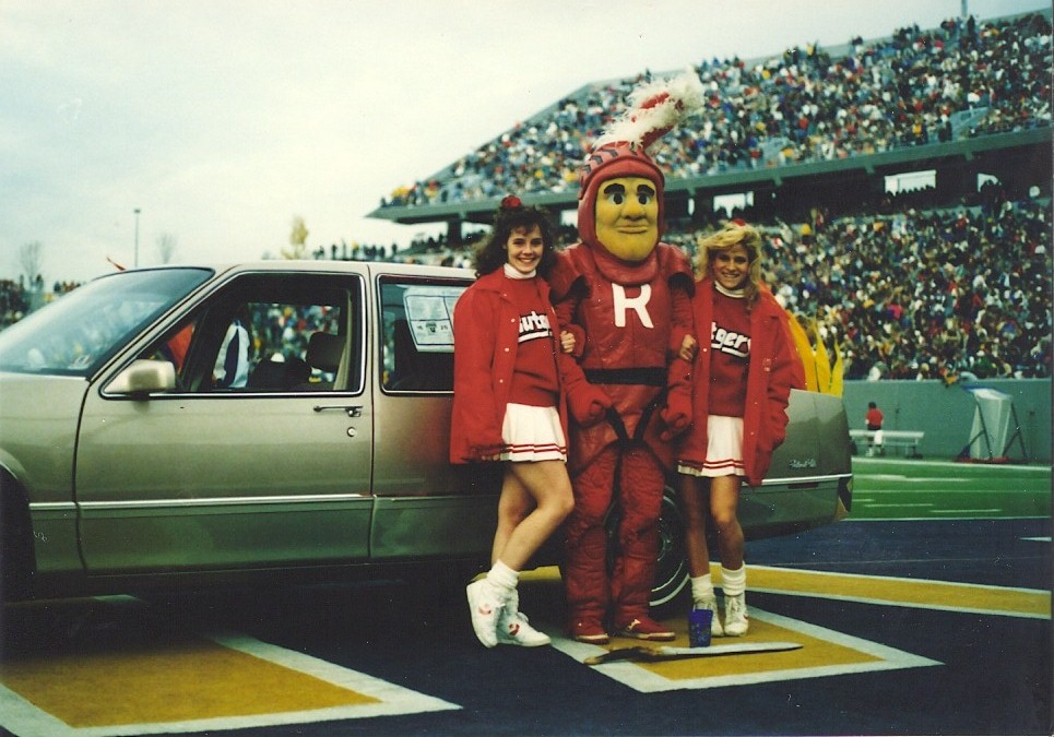 1988 — Football, @West Virginia