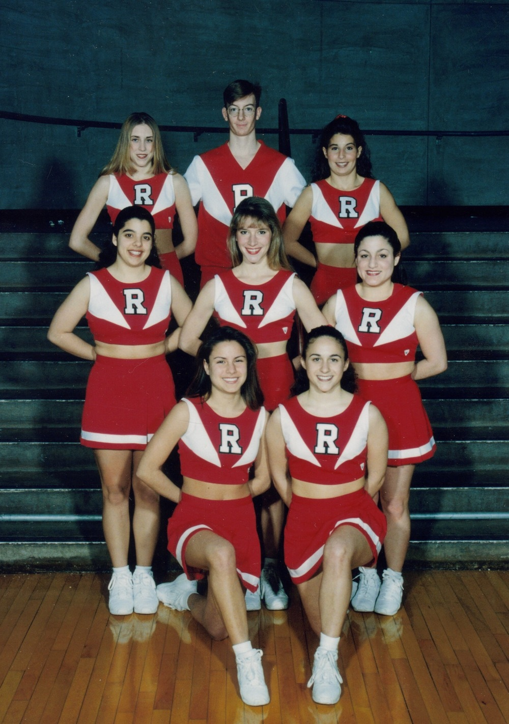 1995–1996 Cheerleaders (B-Team)