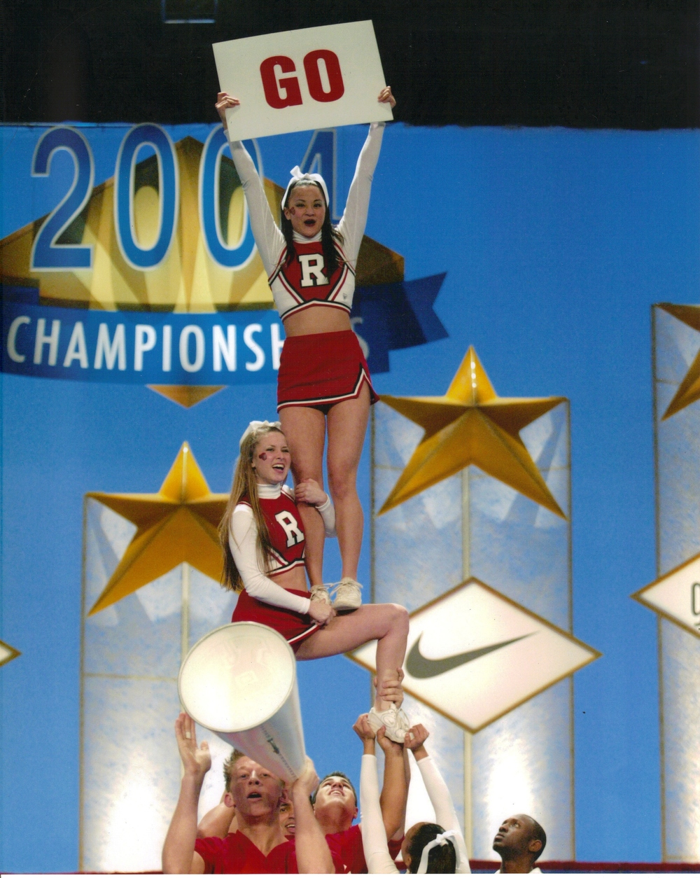 RU Cheer-2004-Natls-Tower.jpg