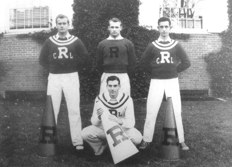 1942-43 — Cheerleaders