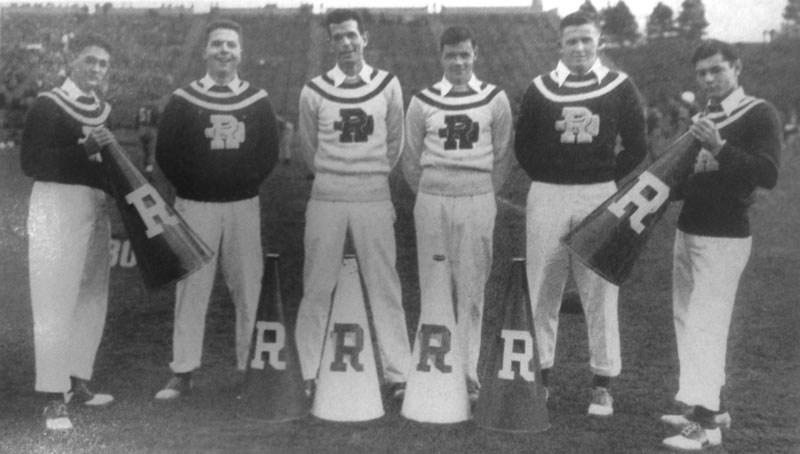1948-1949 — Cheerleaders