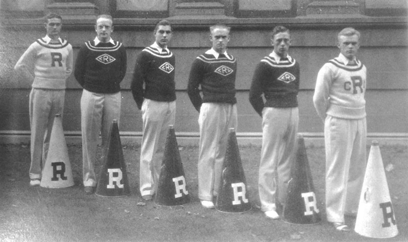 1929-30 — Cheerleaders