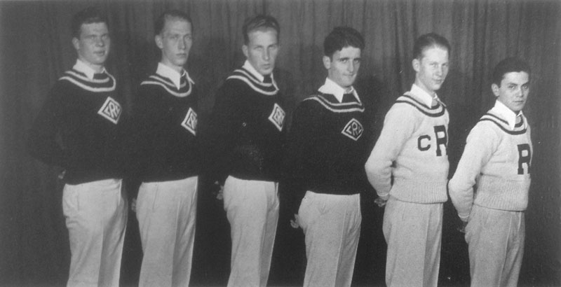 1931–32 — Cheerleaders