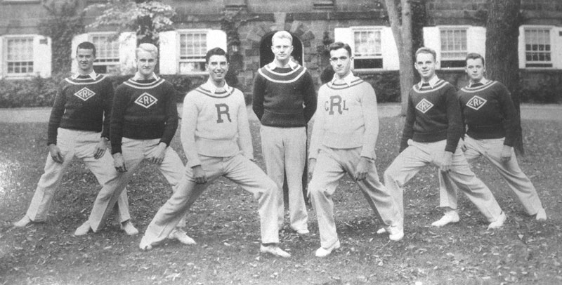1934-35 Cheerleaders