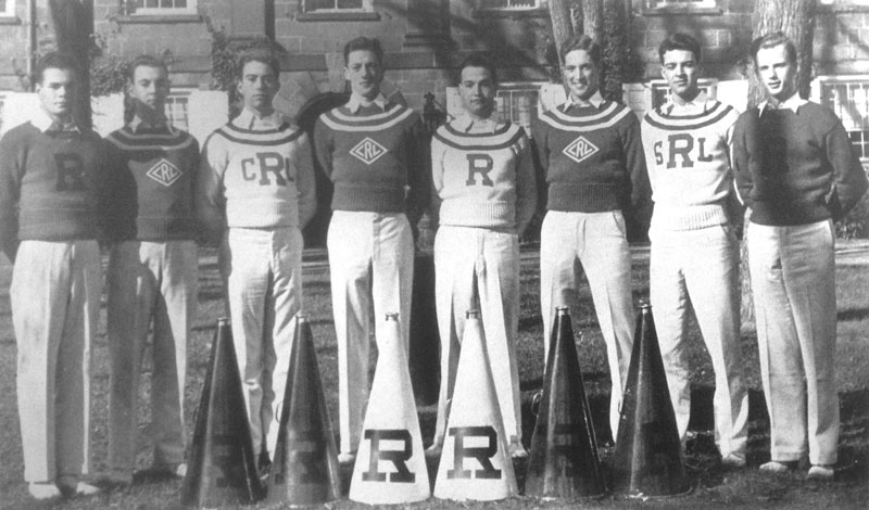 1936-37 Cheerleaders