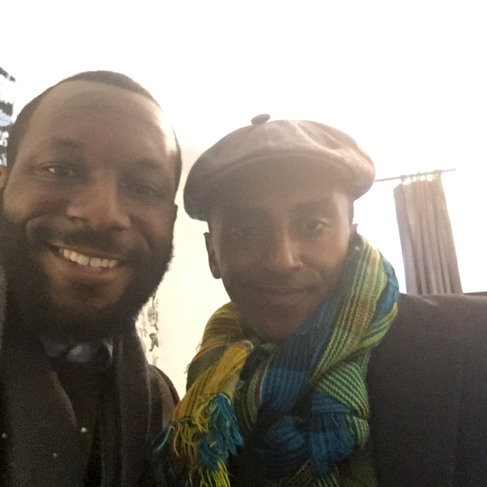 The talented  restaurateur  Mr. Marcus Samuelsson stopped by and shopped with us!