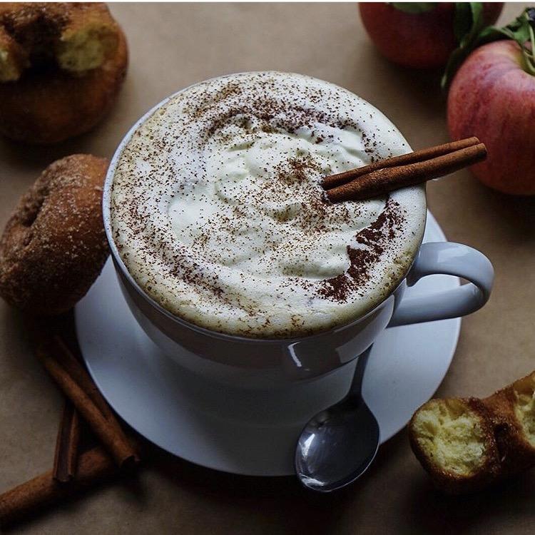 Homemade Pumpkin Spice Latte by @foodieinnewyork