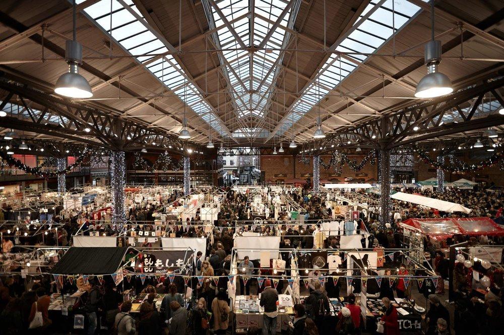 Old Spitalfields Market.