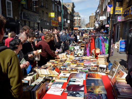 Brick Lane Market.