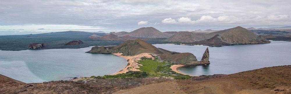 Bartolome Island panorama.