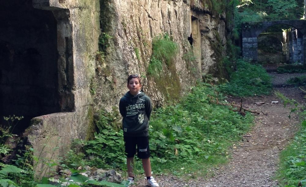 3 - Caverna Comando Austriaco sugli Altipiani.JPG