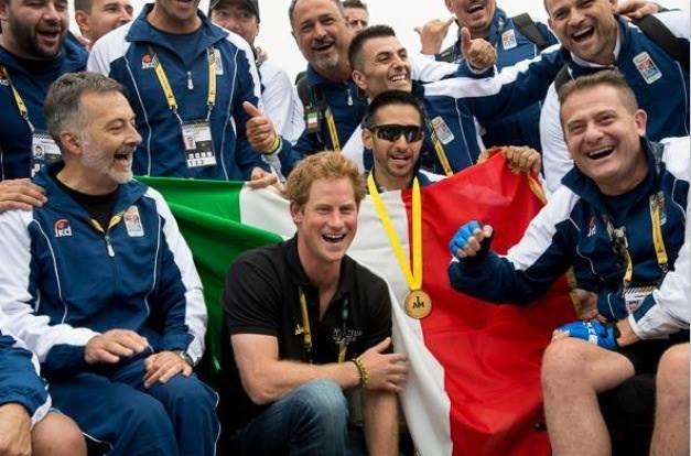 INVICTUS GAMES – Giochi Paralimpici LONDRA 2015: le vittorie della squadra militare italiana guidata dal Col. Gianfranco Paglia - Medaglia d'Oro al Valor Militare.